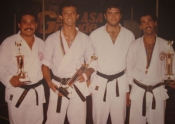 Group picture with some of the Venezuelan team members, 1983