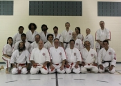 Black Belt exam - Group picture. Nov. 2011