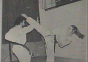 Norman Wener & Judy Goldman. Seidokwan Academy around 1980