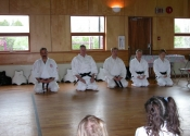 All classes begin and end with Mokuso