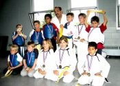 Children's Karate belt promotions - Beaconsfield Rec. Centre