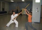 Sai vs. Bo - Weaponry class