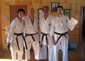 Brown belt promotion - Red Barn, Baie d'Urfé