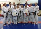 Belt level promotions Tokon Dojo June 2015 Beaconsfield Group