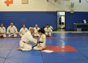 Dinas black belt presentation, November 2017, Beaconsfield Recreation Centre.