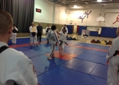 In preparation - Saturday's class with Shihan Paul Jackman from London, Ontario