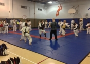 Class in action - Saturday's class with Shihan Paul Jackman from London, Ontario