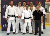 Sensei Manoli passed his black belt exam in Judo June 2015