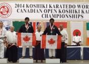 2014 Koshiki Karetedo World Cup & Canadian Open Koshiki Karatedo Championships