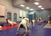 Thursday Karate Class warm up 2016