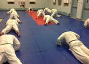 Thursday Karate Class warm up 2016
