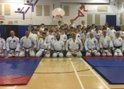 March 30, 2019. Over 50 participants at our Gohaku Safety Contact Koshiki Karate tournament. Beaconsfield Recreation Centre.