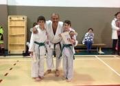Antoine and Mathieu - green belts. June 2016