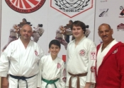 Koshiki championships, Fanshawe College, July 2017. Marc, George, Adam, Antoine