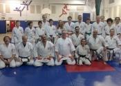 Dinas black belt presentation, November 2017