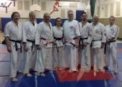 Dinas black belt presentation, November 2017, Beaconsfield Recreation Centre.