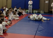 Bully-proofing and karate class for parents and children. Beaconsfield Recreation Centre. Dec. 2017