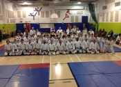Beaconsfield Recreation Centre, Gohaku shiai, Koshiki tournament. Schools representing: Sherbrooke, St. Sophie, Mirabel, Montreal North, Cote St. Luc and Beaconsfield competed. Over 70 competitors. We had 6 rings going on at the same time. What energy, what an event. Next event on March 30, 2019.  Well done everyone