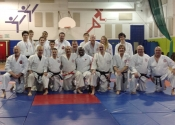 Teen and adult level. Beaconsfield Recreation Centre, Gohaku shiai, Koshiki tournament. Schools representing: Sherbrooke, St. Sophie, Mirabel, Montreal North, Cote St. Luc and Beaconsfield competed. Dec. 1, 2018. Well done everyone.