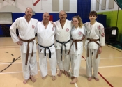 Bravo to.  Paul S., Sara-Maude S & Paul H. For their hard work. Brown belt exam passed. Dec. 8, 2018