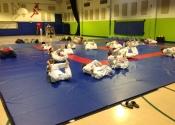 Thursday & Saturday training at the Beaconsfield Recreation Center. Karate, bully-proofing and JiuJitsu club. A family oriented club where we practice both stand up Koshiki/Kenkokan Karate and ground (Ne-waza) Brazilian JiuJitsu. Dynamic, applicable, realistic training for everyone.