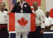 Karate championships with Victor Lukankin and Sensei Hisataka