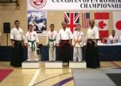 Tokon Dojo in Toronto at the Canadian Koshiki Championships