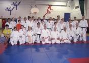 Class photo after Black Belt diploma October 2012