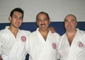 Daniel, Sensei Manoli and Marc