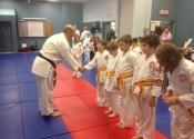Karate Belt promotion for December 2013