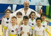 Our new yellow belts