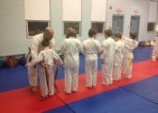 Karate Belt promotion for December 2013