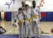 3 Tokon dojo students promoted to Yellow Belt