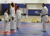 3 Tokon dojo students promoted to Yellow Belt