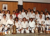 The old days of Seidokwan Academy of Judo and Karate-do. This picture was taken after we participated in an open tournament.