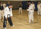 Taekwondo clinic with our friends from CCMM - April 6th 2013