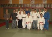 Dec. 19th 2009 - Belt promotion, group picture, CLub de Judo Anjou