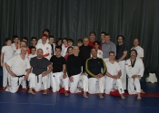 Grappling seminar with Sensei Vincent Lavoie at our club