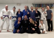 Annual trip to Florida. Palm Beach Gardens BJJ club. An amazing club, lots of rolling. Jan. 2020