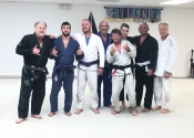 Last class for me before heading back home to the cold weather. Palm Beach BJJ Club. Jan. 2020, Florida