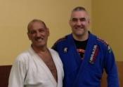 George & professor Marcelo, Arena BJJ. August 13, 2016