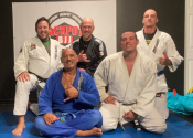 Went to grapple at a small JiuJitsu club in Brossard. Had a blast, a great bunch of people - Aug. 2021