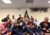 A big thank you to Professor Almeida for a wonderful Jiu-Jitsu vacation. Training two times a day at his club. An unforgettable experience. Wonderful, helpful people who have a great passion for the art. Ossss. January, 2018. Florida