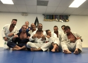 Class 4 done. Club participated in a huge tournament in Orlando, Florida. They did well, so to keep up the Vibe, best to keep rolling. So the complete session was to roll and keep rolling. Awesome night with these great people. One more session tomorrow before heading home. Thank you Professor Almeida for the privilege of allowing me to train at your club.