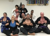 Palm Beach Gardens BJJ - session one done. Worked on ankle lock from Delaheva. Wicked and sneaky. Lots of fun. A great school to come train. Dec. 2018.