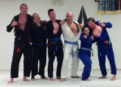 "Third session done. Rolling for an hour with these beasts. 5 minute rounds, 1 minute rest between rounds. What an honour and privilege to roll with two black belts, a purple belt and two blue belts. Against the black belts, the song says it all - ""killing me softly..."" with their BJJ, the others take no survivors. So fortunate to be able to find such a school and such nice people. Palm Beach Gardens BJJ, Florida. Dec. 2018."