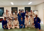Paul & Michel from our karate & Jiu-jitsu club visit Arena BJJ. March 5, 2019.