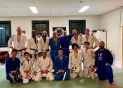 Paul & Michel from our karate & Jiu-jitsu club visit Arena BJJ. March 5, 2019.