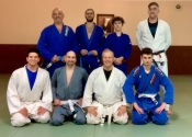 Blue belt 3rd stripe - January 13, 2020. Arena BJJ with Professor Marcelo Talentino
