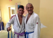 Leo & George. Leo is a phenomenal grappler and a gentleman. A force to reckon with